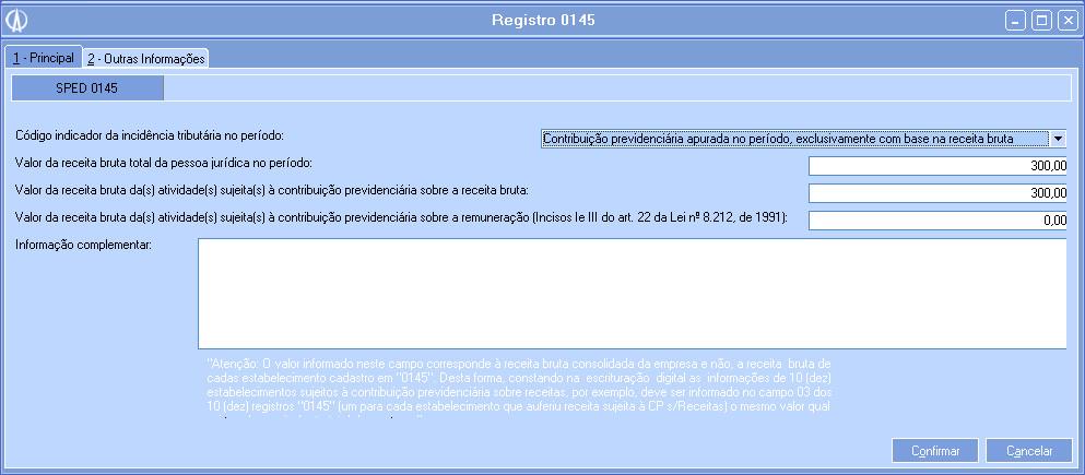 Registros 0145