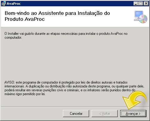 Instalando o Avaproc.