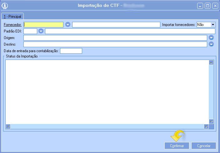 Importação do CTF