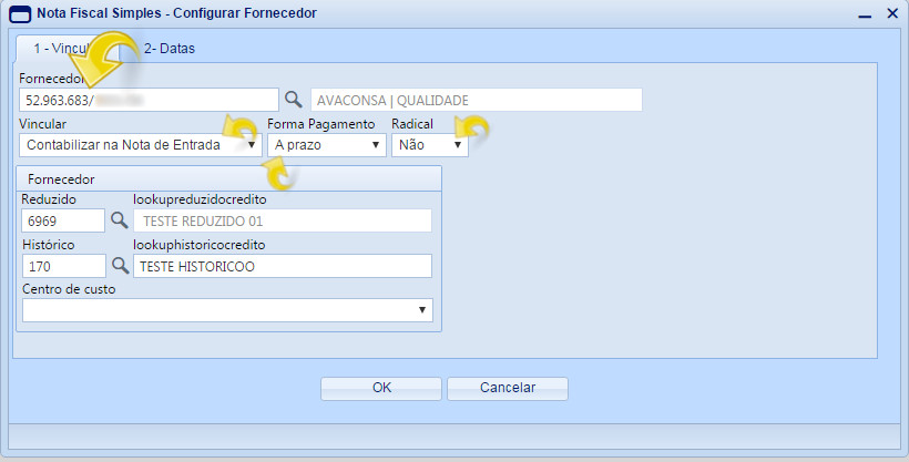 Configurando Forcedore