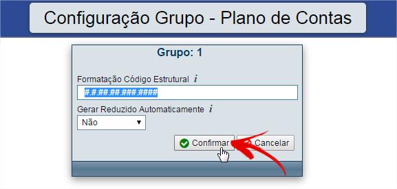 Configuração do Grupo