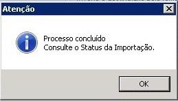 Arquivo importado.