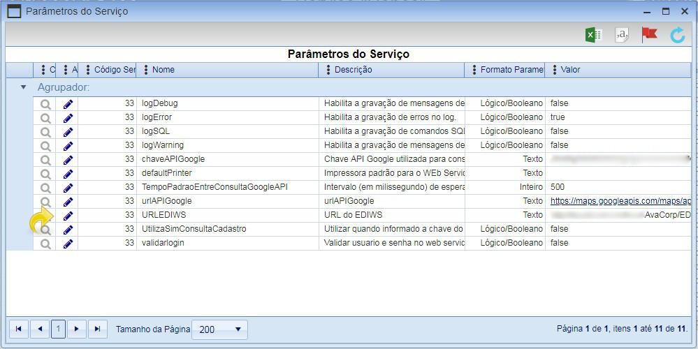 Configurando o AvacorpIWS