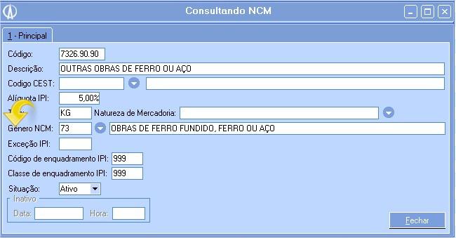 Genero NCM
